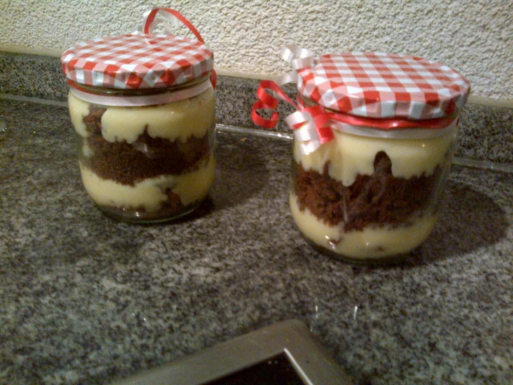 Rezept geschenk kuchen im glas